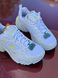 Стильні білі міські кросівки skechers, фото 6