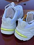 Стильні білі міські кросівки skechers, фото 5