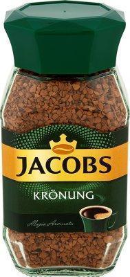 Кава розчинна сублімована Jacobs Kronung, 200г в скляній банці, Німеччина,