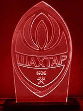 Акриловий світильник-нічник ФК Шахтар червоний tty-n000014