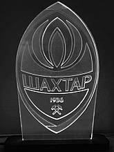 Акриловий світильник-нічник ФК Шахтар білий tty-n000142