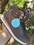 Высокие коричневые хайтопы, кроссовки puma оригинал, фото 4
