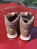 Высокие коричневые хайтопы, кроссовки puma оригинал, фото 2