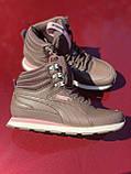 Высокие коричневые хайтопы, кроссовки puma оригинал, фото 5