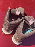 Высокие коричневые хайтопы, кроссовки puma оригинал, фото 9