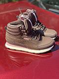 Высокие коричневые хайтопы, кроссовки puma оригинал, фото 7