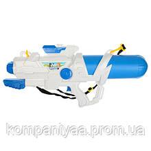 Детский водяной помповый автомат M 5411 65см (Бело-Синий)