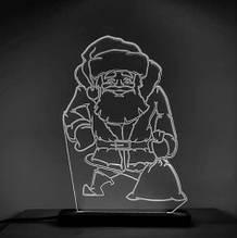 Акриловый светильник-ночник Святой Николай белый tty-n000018