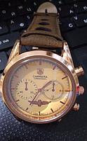 Часы мужские наручные TAG Heuer Carrera Quartz Chronograph, стильные кварцевые мужские часы