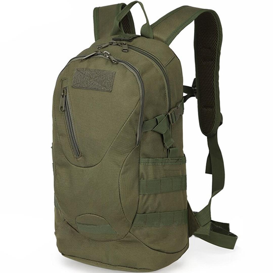 Рюкзак тактический Eagle M08G (штурмовой, военный) мужская сумка Оливковый 15 л. - фото 1