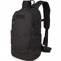 Рюкзак тактический Eagle M08B (штурмовой, военный) мужская сумка Черный 15 л.