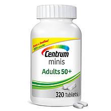 Мультивитаминный комплекс Centrum Minis Adult 50+, 320 таблеток