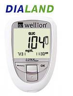 Глюкометр Веллион Луна Дуо (Wellion  LUNA Duo) без тест-полосок, фото 1