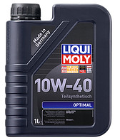 Полусинтетическое моторное масло Liqui moly(Ликви моли) Optimal SAE 10W-40  1л.