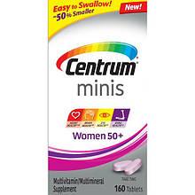Мультивитаминный комплекс для женщин Centrum Minis Women 50+, 280 таблеток