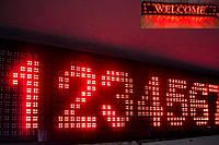 """Светодиодное табло """"бегущая строка"""" 100х22"""