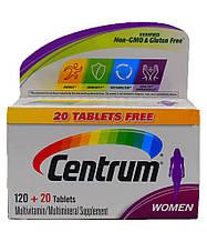 Мультивитаминный комплекс для женщин Centrum Women, 140 таблеток