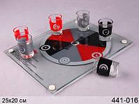 Настольная игра Пьяная рулетка на 6 рюмок