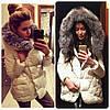Куртка женская стеганная теплая P443