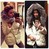 Куртка женская стеганная теплая P443, фото 1