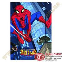 "Kite Папка на резинке А4 картонная ""Spider-Man"" арт.SM12-211WK"