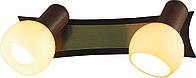 Спот Altalusse INL-9275W-02 Antique Brass & Walnut