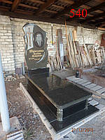 Памятник из челновського гранита, фото 1