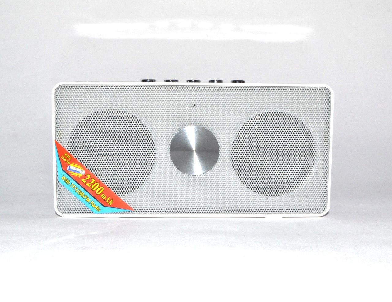 Портативная bluetooth колонка MP3 WS-768BT White