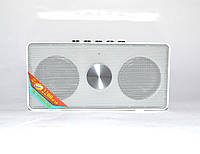 Портативная bluetooth колонка MP3 WS-768BT White