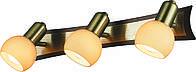 Спот Altalusse INL-9275W-03 Antique Brass & Walnut