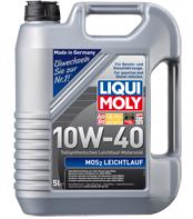 Минеральное моторное масло Liqui moly (Ликви моли) MoS2 Leichtlauf Super Motoroil SAE 15W-40  4л.