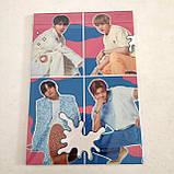 "Набір ""BTS"": щоденник, пенал, скетчбук, фото 3"