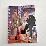 "Набір ""BTS"": щоденник, пенал, скетчбук, фото 4"