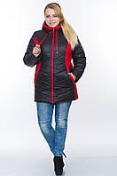 Жіноча куртка на блискавці №26 (плащівка), фото 1