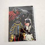 """Набір """"Isekai Quartet & Evel Tanya & Overlord """": щоденник, пенал, скетчбук, фото 5"""