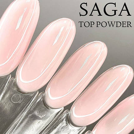 """Топ Powder від """"Saga"""" колір пудра, 8 мл, фото 2"""
