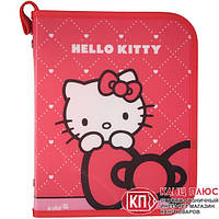 Папка В5 на молнии Hello Kitty Kite, HK13-203-1К