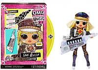 Кукла ЛОЛ ОМГ Ремикс Рок Королева Сцены LOL Surprise OMG Remix Rock Fame Queen 577607, фото 1
