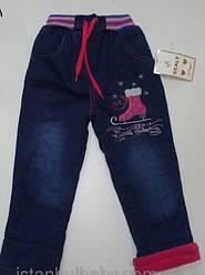 Детские тёплые джинсы, брюки, комбинезоны
