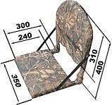 М'яке поворотне крісло для ло дкі ПВХ, фото 8