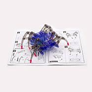 Дитячий конструктор складання рухомого павука, фото 5