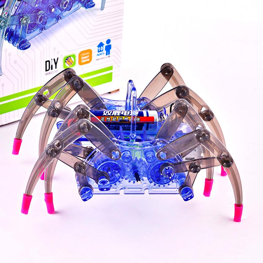 Дитячий конструктор складання рухомого павука