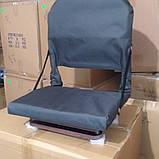 М'яке поворотне крісло для ло дкі ПВХ, фото 3