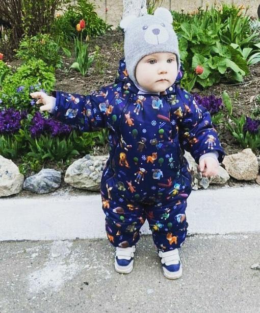 Купить детский осенне-весенний комбинезон трансформер