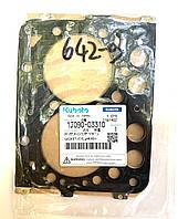 Прокладка головки блока Kubota Z482 металическая оригинал ; 25-34546-00