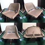 Пластикове крісло для човни ПВХ з поворотним механізмом, фото 4