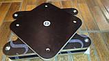 Пластиковое кресло для лодки ПВХ с поворотным механизмом, фото 5
