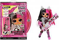 Лялька ЛОЛ ОМГ Ремікс Рок Леді Метал LOL Surprise OMG Remix Rock Metal Chick 577577, фото 1
