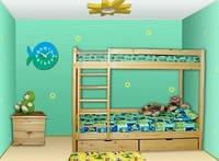 Детская двухъярусная кровать «Ирель»