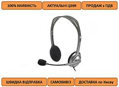 Гарнитура Logitech H110 Stereo Headset with 2*3pin jacks (981-000271)